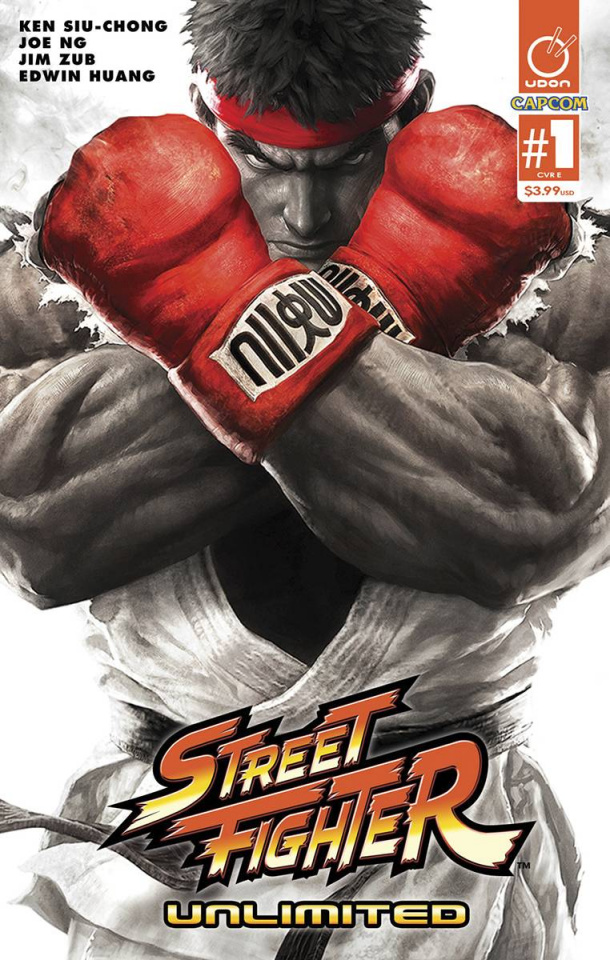 Street Fighter Unlimited #1 (20 Copy SFV Game Cover)