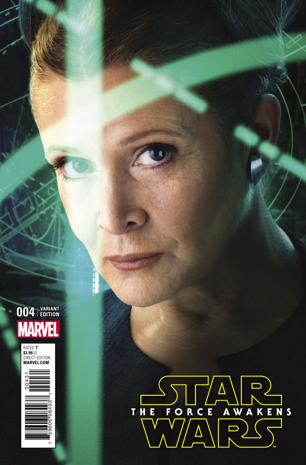 Star Wars: The Force Awakens #4 (Movie Cover)