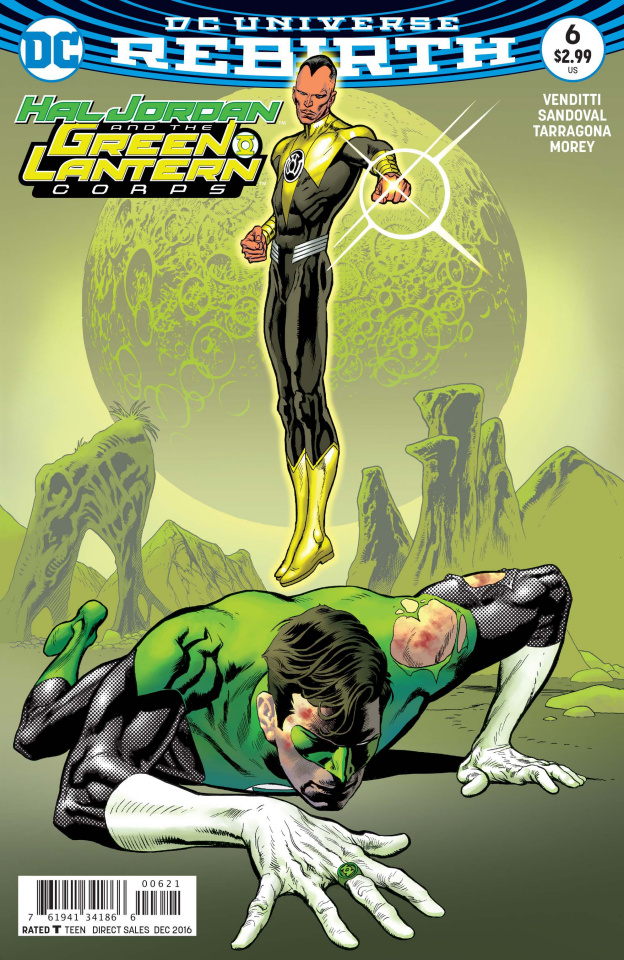 Hal Jordan and The Green Lantern Corps #6 (Variant Cover)