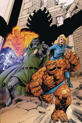 Marvel Two-In-One #9 (Davis Return of Fantastic Four Cover)