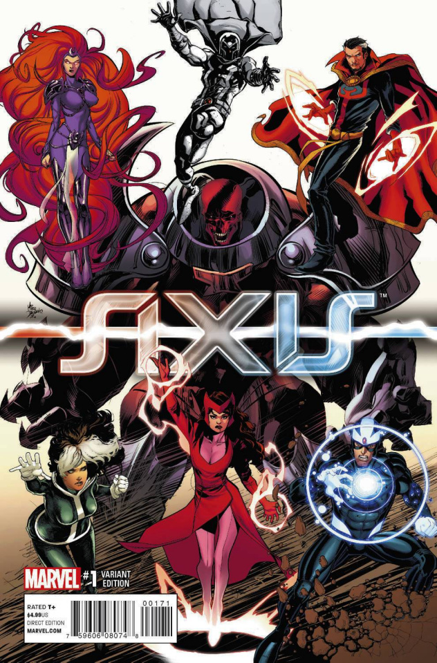 Avengers and X-Men: AXIS #1 (Young Guns Cover)