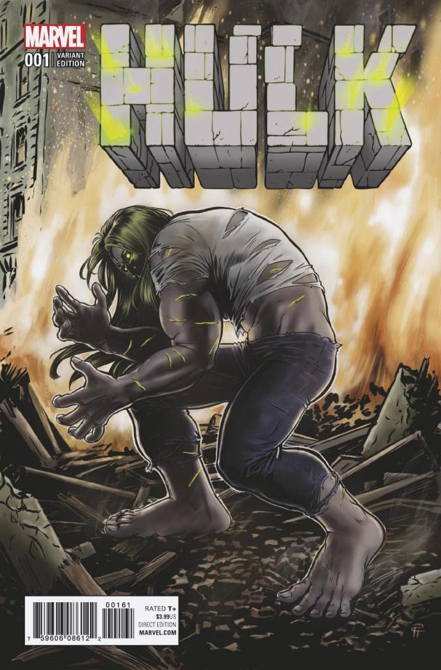 Hulk #1 (Guerra Cover)