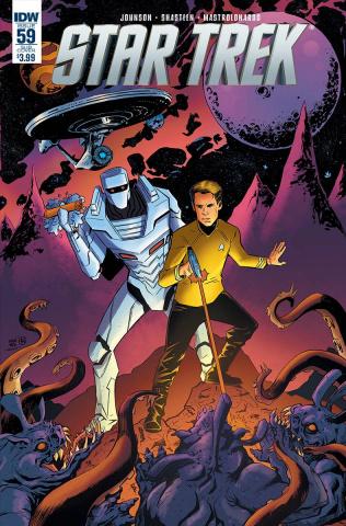 Star Trek #59 (ROM Cover)