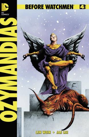 Before Watchmen: Ozymandias #4