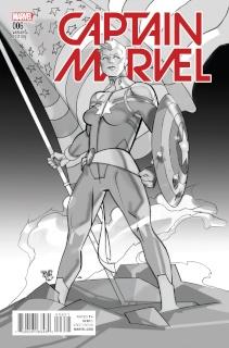 Captain Marvel #6 (Reenactment Cover)