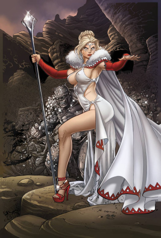 Grimm Fairy Tales: Wonderland - Clash of Queens #3 (Ortiz Cover)