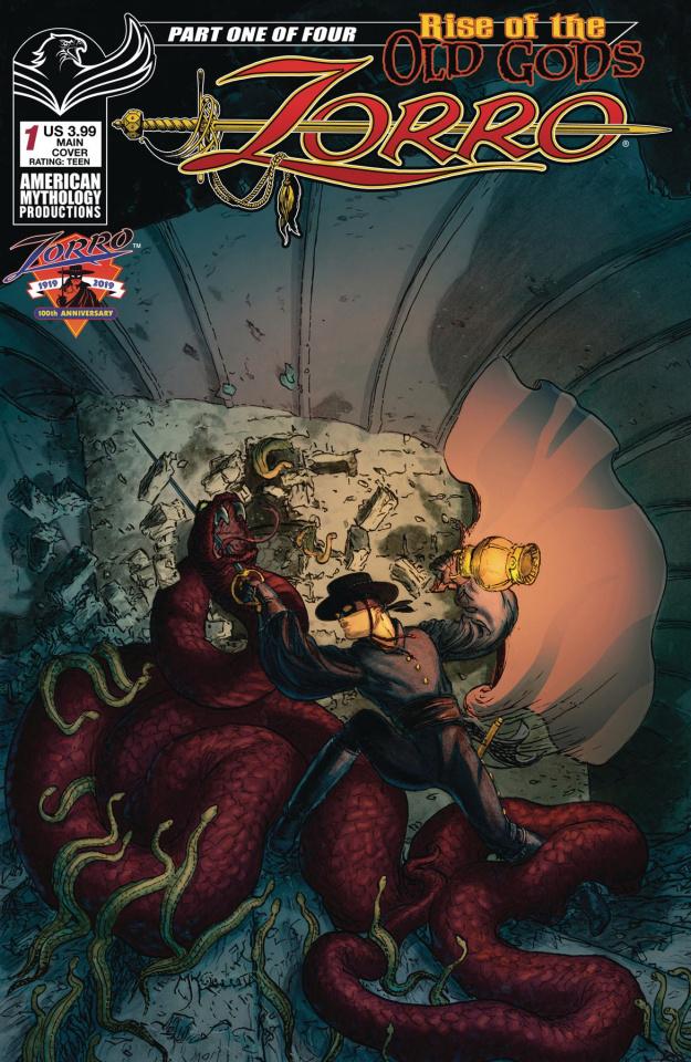 Zorro: Rise of the Old Gods #1 (Kaluta Cover)