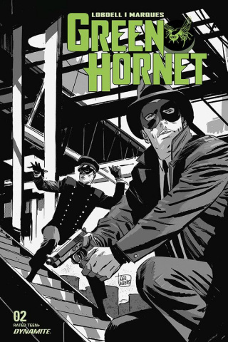Green Hornet #2 (20 Copy Weeks B&W Cover)