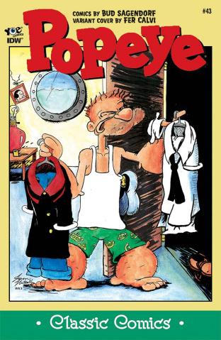 Popeye Classics #43 (10 Copy Cover)
