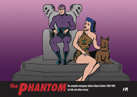 The Phantom: The Complete Newspaper Dailies Vol. 16: 1958-1959