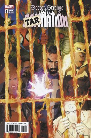 Doctor Strange: Damnation #4 (Tarnation Cover)