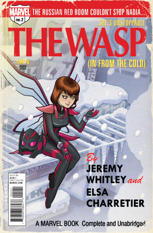 The Unstoppable Wasp #2 (Fleecs Cover)