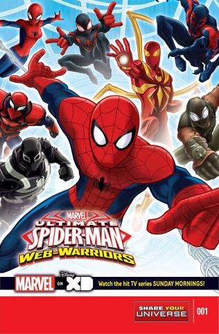 Marvel Universe: Ultimate Spider-Man - Web Warriors #1