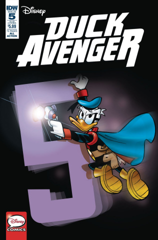 Duck Avenger #5 (Subscription Cover)