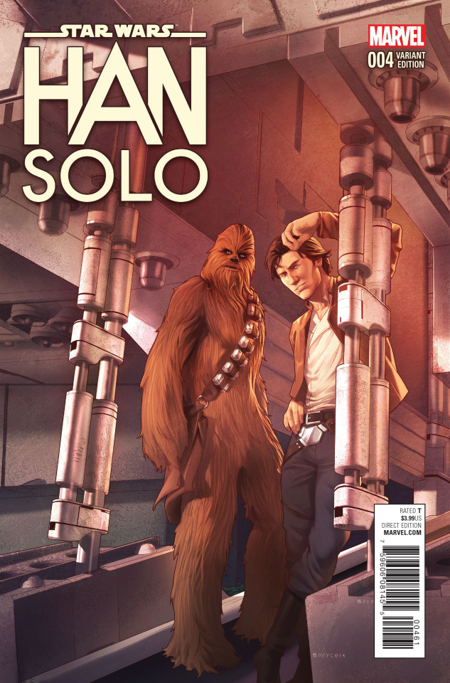 Star Wars: Han Solo #4 (Jamal Campbell Cover)