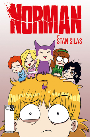 Norman: The First Slash #1 (Smith Cover)