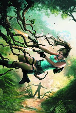 Lara Croft and the Frozen Omen #1