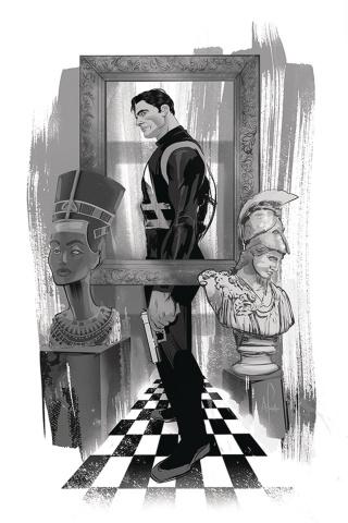 James Bond #5 (20 Copy Richardson B&W Virgin Cover)