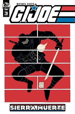G.I. Joe: Sierra Muerte #3 (Fiffe Cover)