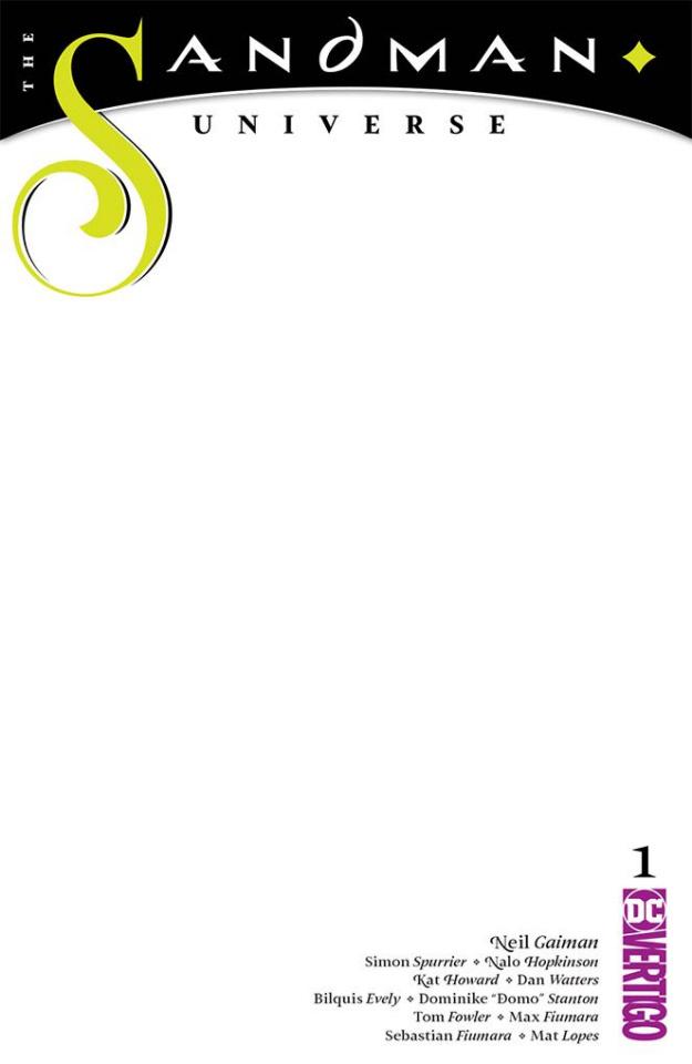 The Sandman Universe #1 (Blank Cover)