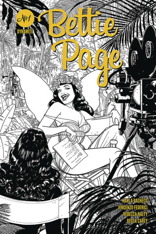 Bettie Page #1 (10 Copy Kano B&W Cover)