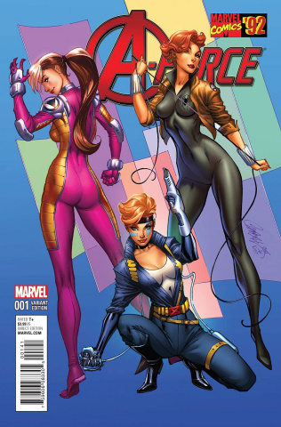 A-Force #1 (Campbell Marvel '92 Cover)