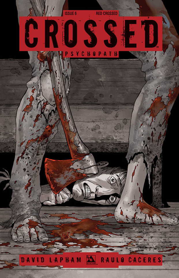 Crossed: Psychopath #6 (Red Crossed Cover)