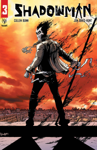 Shadowman #3 (Davis-Hunt Cover)