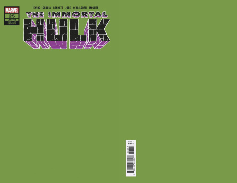 The Immortal Hulk #25 (Green Cover)