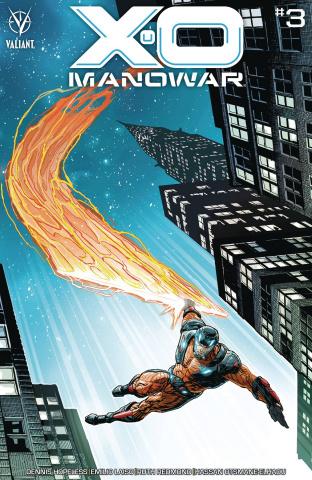 X-O Manowar #3 (25 Copy Weaver Cover)