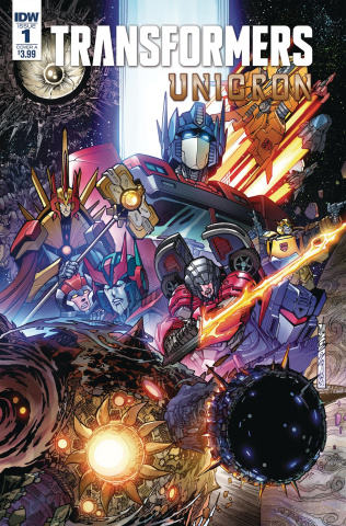 The Transformers: Unicron #1 (Milne Cover)