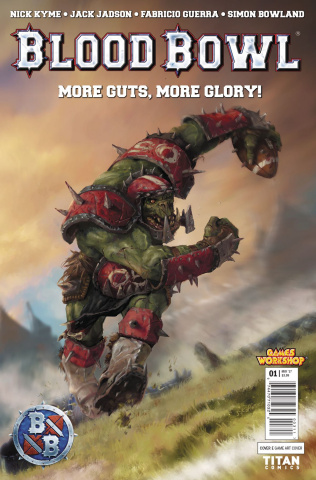 Blood Bowl: More Guts, More Glory! #1 (Videogame Cover)
