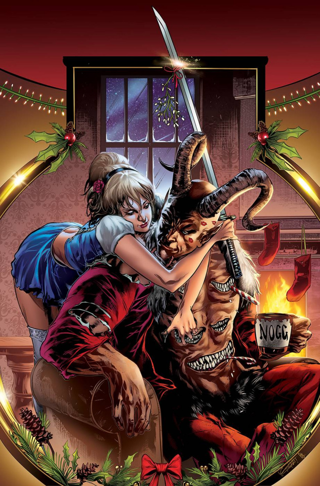 Cinderella: Bloody Christmas Annual 2020 (White Cover)