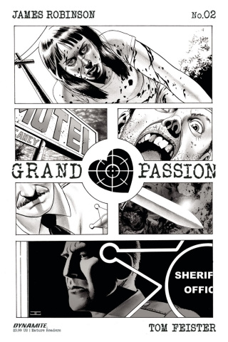 Grand Passion #2 (10 Copy Cassaday Cover)