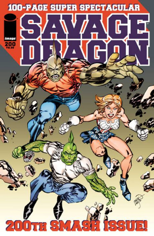 Savage Dragon #200 (Larsen Cover)