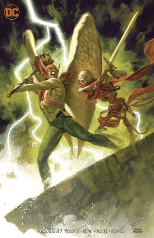 Hawkman #7 (Variant Cover)