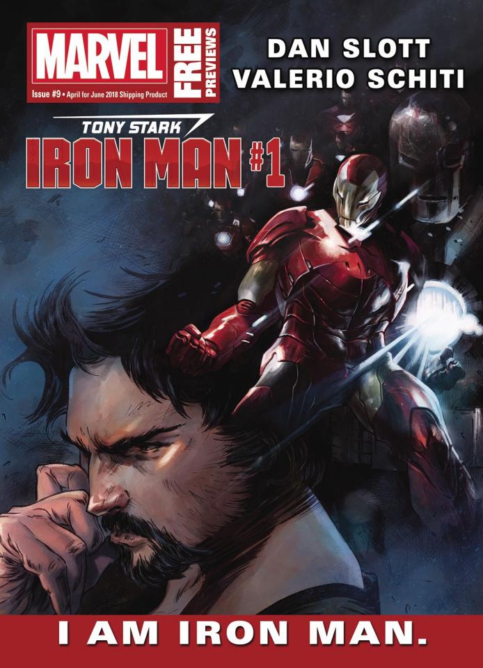 Marvel Previews #9: April 2018 Extras