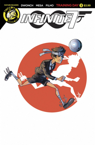 Infinite Seven #3 (Mesa Cover)