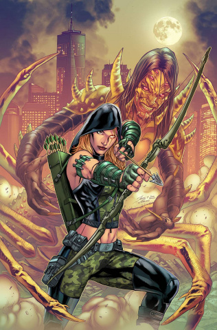 Robyn Hood: Cult of the Spider (Igor Vitorino Cover)
