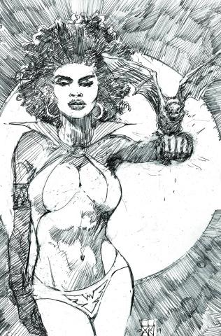Vampirella #8 (15 Copy Cowan B&W Virgin Cover)