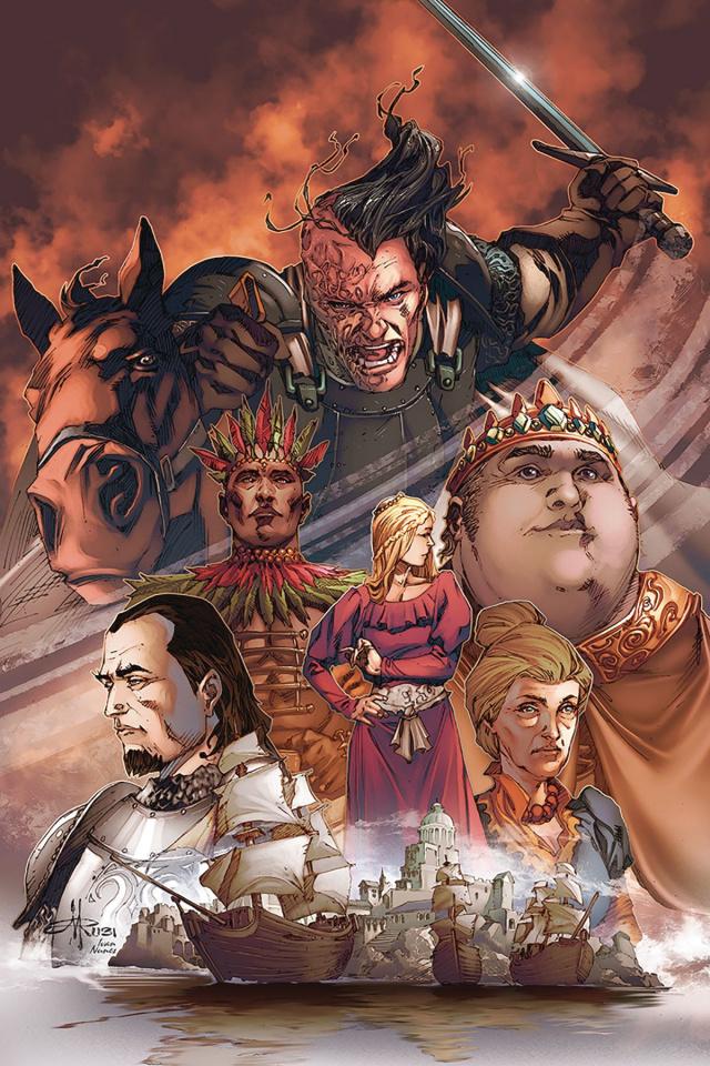 A Clash of Kings #3 (10 Copy Rubi Virgin Cover)