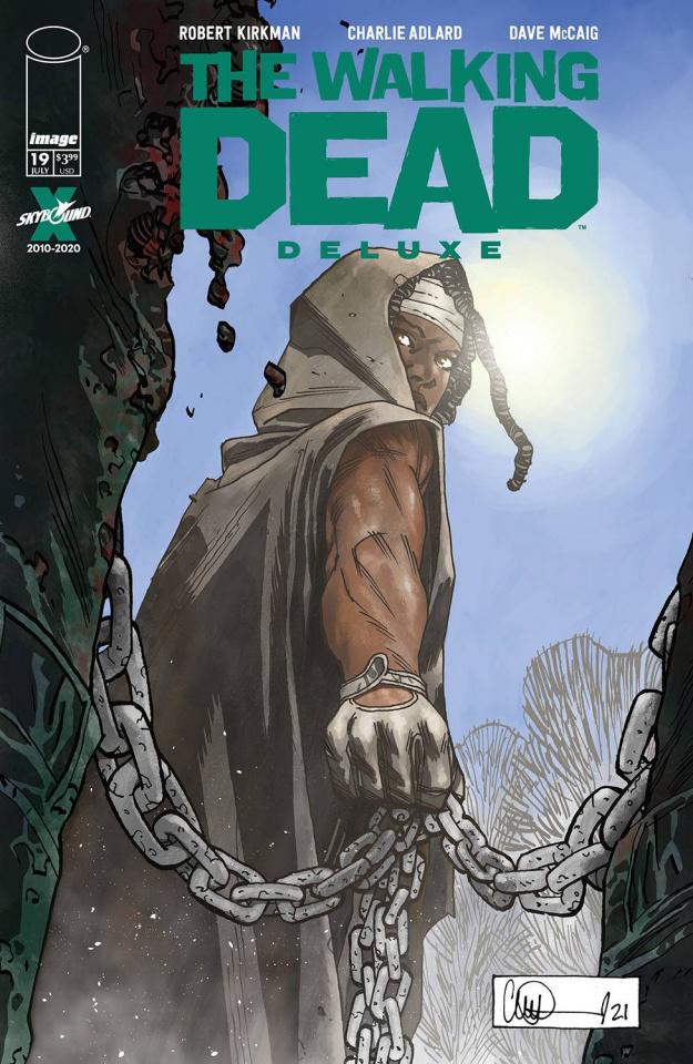 The Walking Dead Deluxe #19 (Adlard Cover)