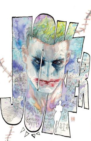 Joker / Harley: Criminal Sanity - Secret Files #1 (Bill Sienkiewicz Cover)