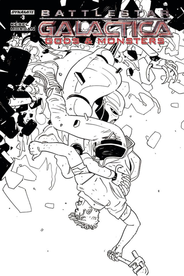 Battlestar Galactica: Gods & Monsters #3 (10 Copy Cover)