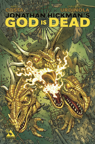 God Is Dead #17 (End of Days Cover)