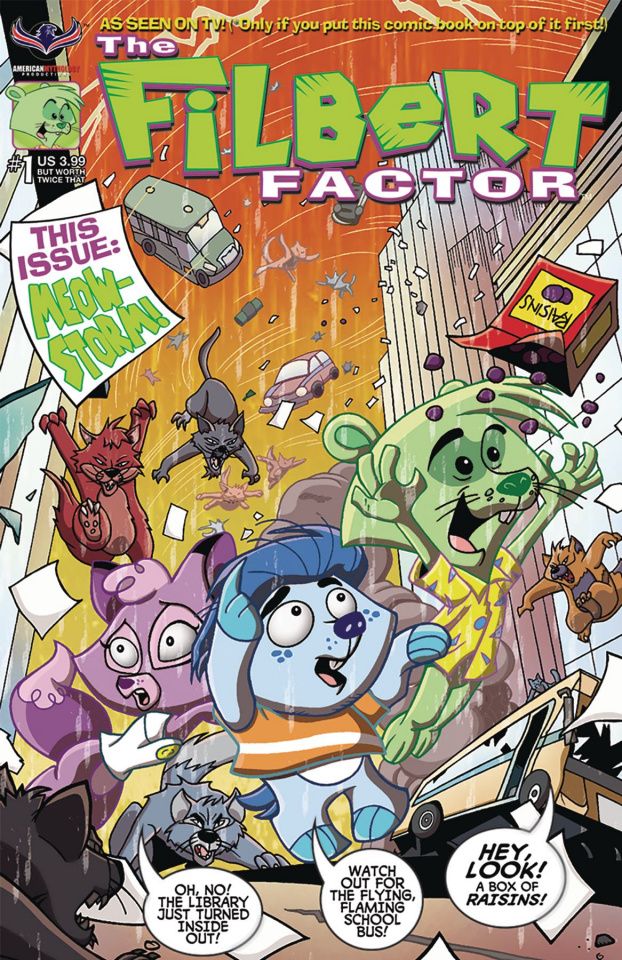 Filbert Factor #1: Rejected By Free Comic Book Day Blueprint