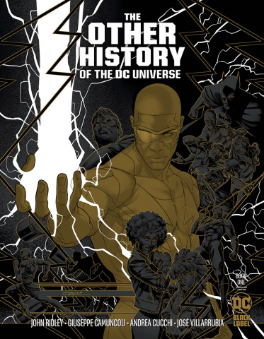 The Other History of the DC Universe #1 (1:25 Jamal Campbell Cover)