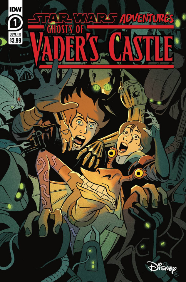 Star Wars Adventures: Ghosts of Vader's Castle #1 (Charm Cover)