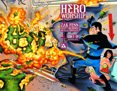 Hero Worship #2 (Wrap Cover)