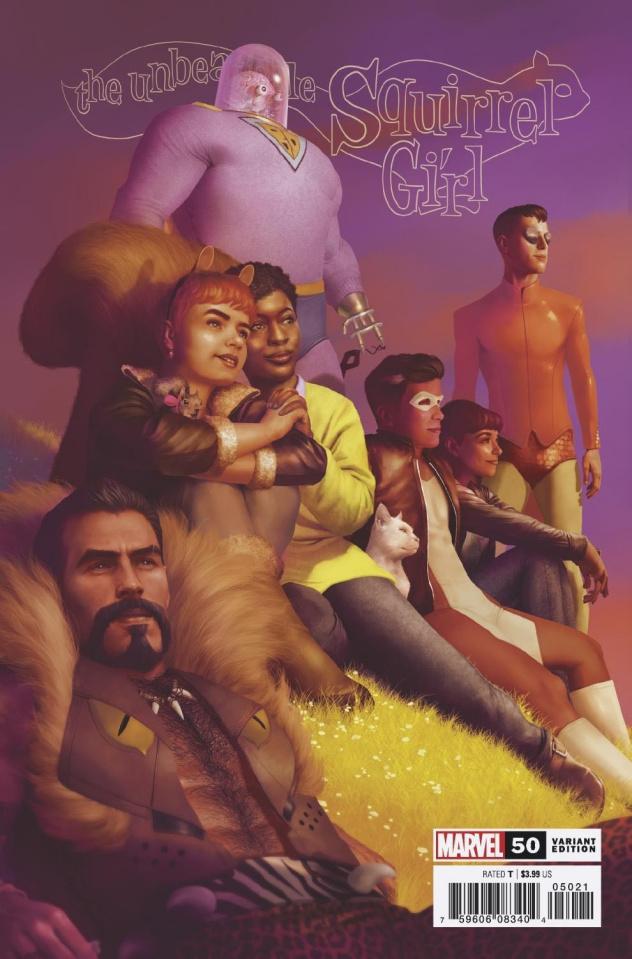 The Unbeatable Squirrel Girl #50 (Rahzzah Cover)